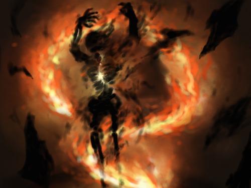 Flamme-serpent